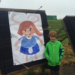 Outdoor archery session at Beecraigs – Sun 24 Sept 2017