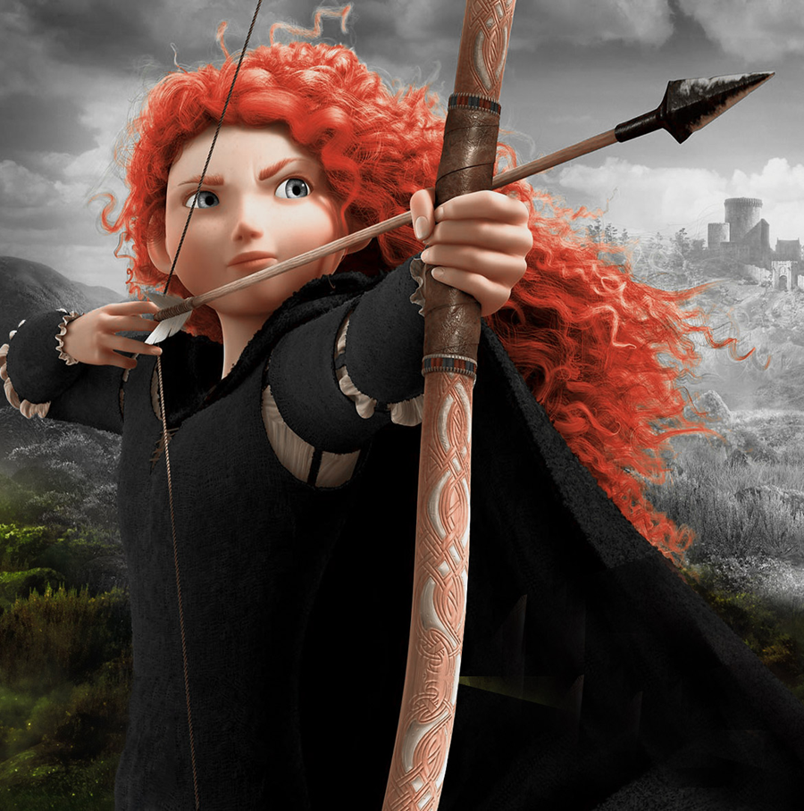 The film Brave helped inspire the beginning of Leith Community Archers