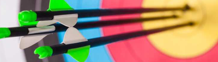 target hit - Leith Community Archers